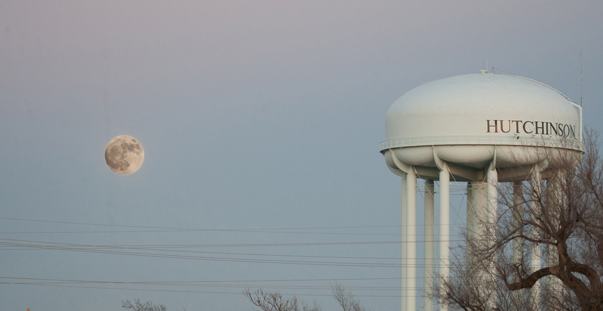 Hutchinson water tower
